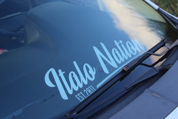 Italo Nation Basic Sticker-1001
